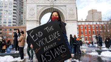 Protesters storm New York Streets over Attacks on Asian Community