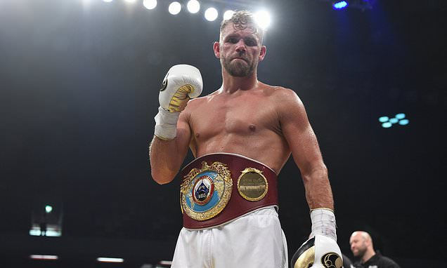 Billy Joe Saunders will return to action in Manchester after year out
