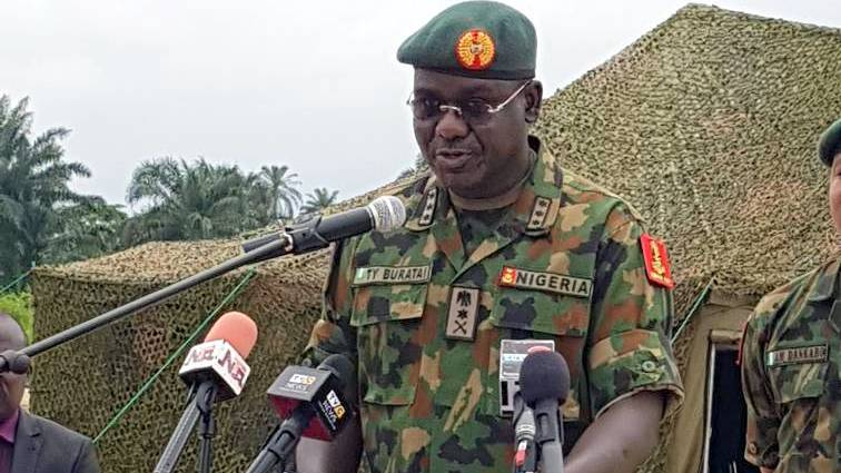 Human rights day: Nigerian army recommits support for brave officer