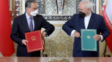 China and Iran sign 25 year pactPNG