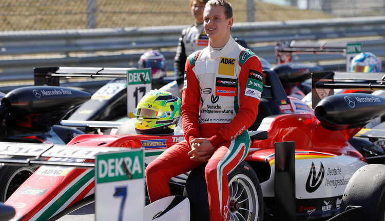 Michael Schumacher's son wins first Formula Three title