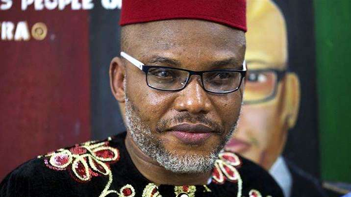"""Nnamdi Kanu claims Nigerian Govt Hired """"Third Party"""" to Capture Him in first Testimony!"""