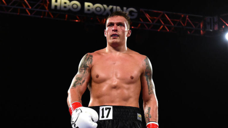Usyk Suffers Biceps Injury, Withdraws From Takam Bout