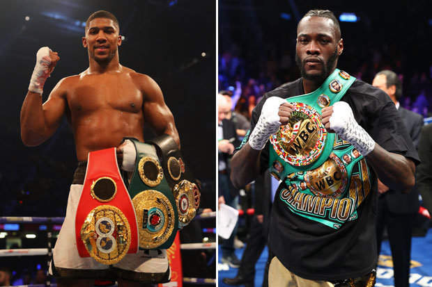 Anthony Joshua shuns Wilder, Fury fight