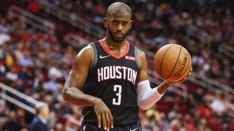 4bfa1cdc449 Houston Rockets All-Star guard Chris Paul is set for two to three weeks on  the sidelines due to a hamstring injury. Paul had played only 12 minutes and  ...