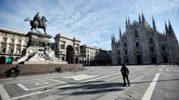 Italy returns to lockdown for the Third Time