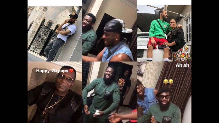 Phyno Celebrates Dad on his 70th Birthday | Plus TV Africa