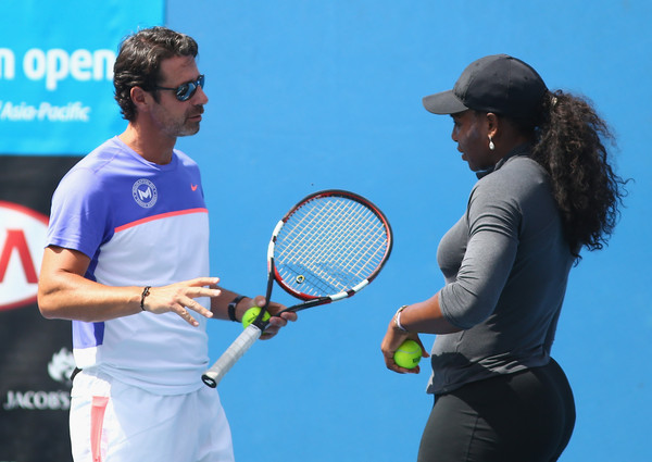 Serena Williams calls out tennis coach claims