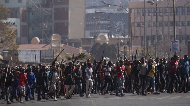 protests flood south africa in wake of zuma's detention
